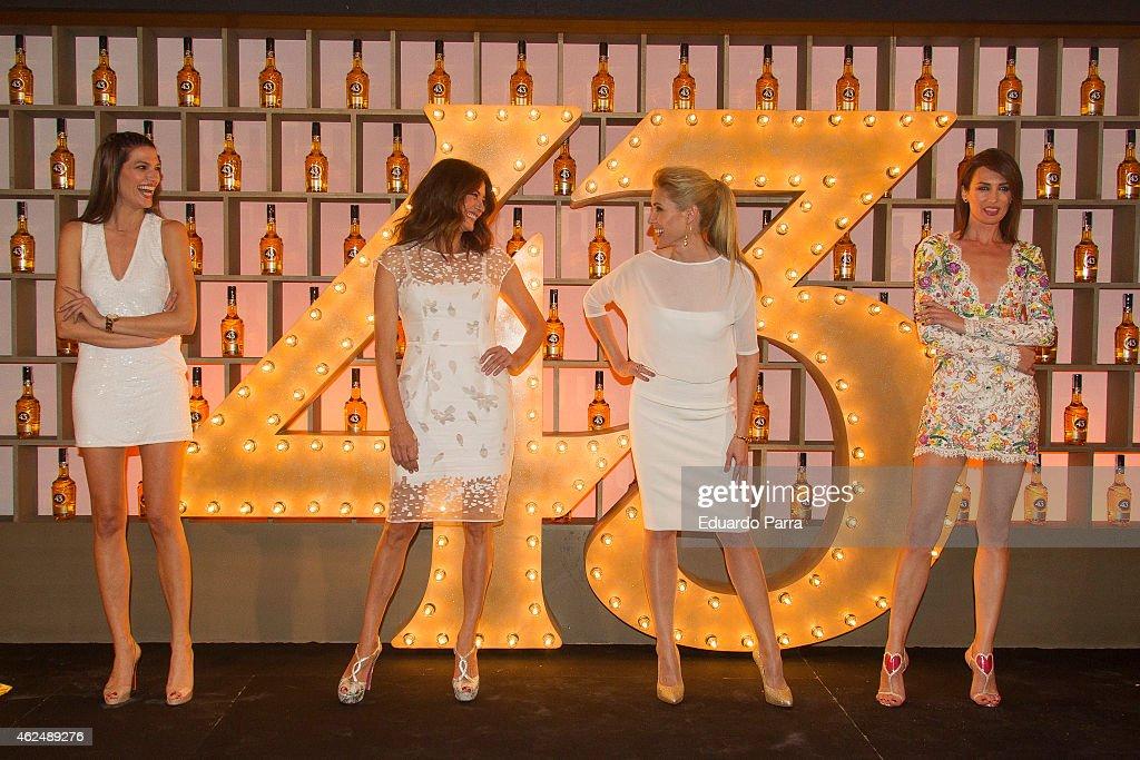 Celebrities Attend Licor 43 New Bottle Presentation