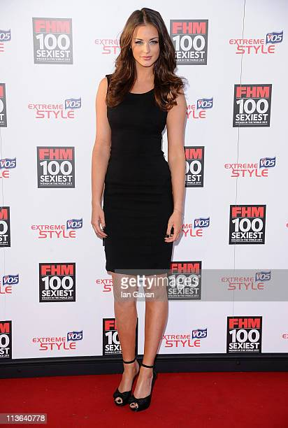 Model Lauren Budd AKA Violet attends the FHM 100 Sexiest Women In The World Launch Party at One Marylebone on May 4 2011 in London United Kingdom