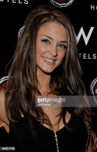 Model Lauren Budd attends the party to celebrate the launch of the new Eclipse bar and lounge at W Barcelona at Eclipse Chelsea on September 9 2009...