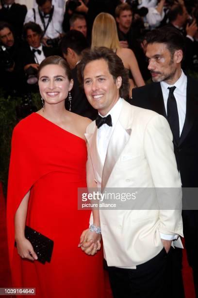 Model Lauren Bush And Her Husband David Lauren Attend The 2015 Costume Institute Gala Benefit Celebrating