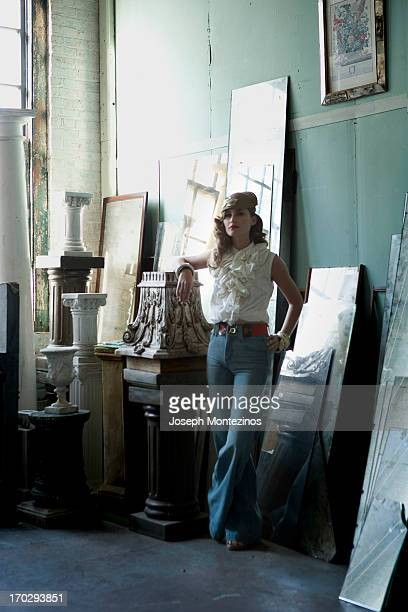 Model Lauren Bush is photographed for You Magazine on November 28 2007 in New York City