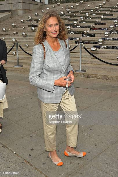 Model Lauren Hutton attends the Vanity Fair Party at the 2011 Tribeca Film Festival at the State Supreme Courthouse on April 27 2011 in New York City