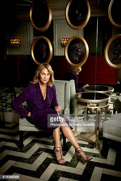 Model Lauren Hutton is photographed for The Untitled Magazine on January 24 2014 in New York City PUBLISHED IMAGE CREDIT MUST READ Indira...