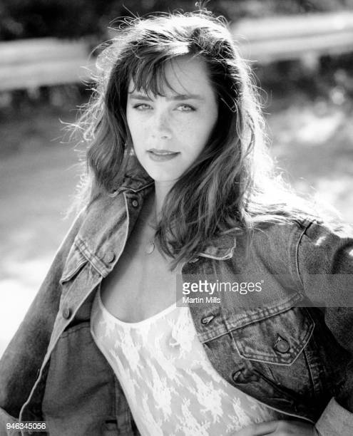 Model Lauren O'Bryan poses for a portrait circa 1980's in Los Angeles California