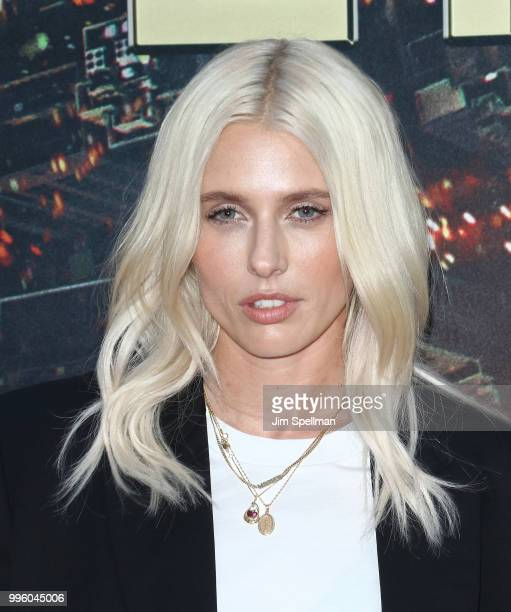 Model Lauren Wasser attends the Skyscraper New York premiere at AMC Loews Lincoln Square on July 10 2018 in New York City