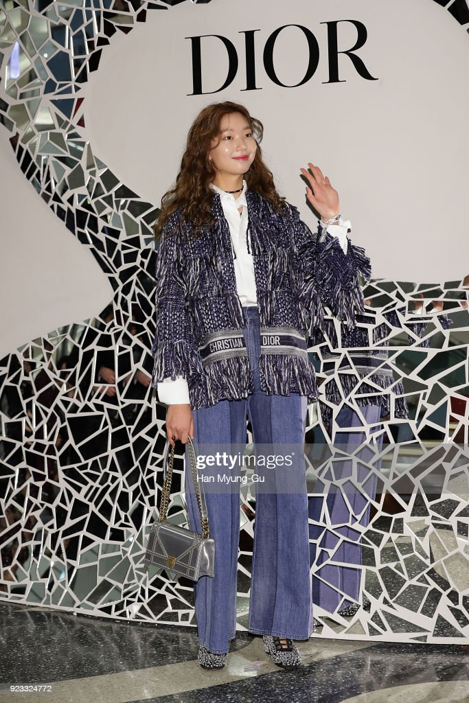 buy popular 2abba 775f8 Model Lee Ho-Jung attends the Dior 2018 S/S Collection Pop ...