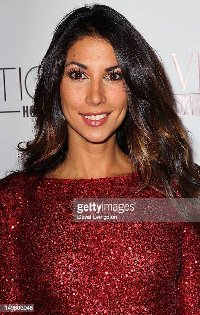 Model Leilani Dowding attends the Viva Glam Magazine September Issue launch party at Station Hollywood on July 31 2012 in Hollywood California