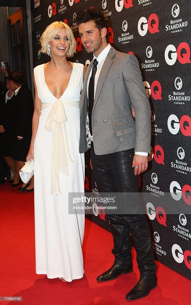 Model Lena Gercke Arrives With Tariq Jay Khan For The Gq Men