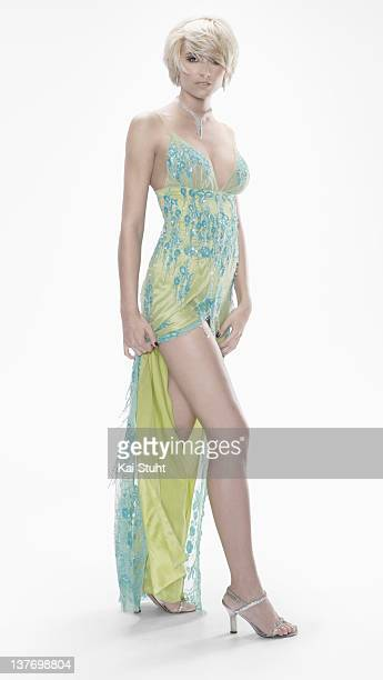 Model Lena Gercke is photographed on May 24 2007 in Monaco Monaco