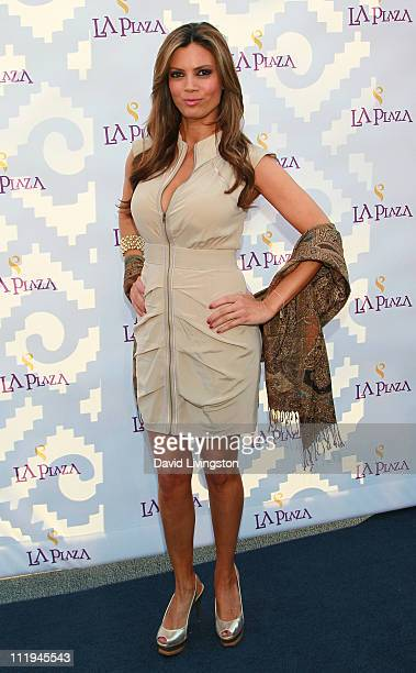 Model Lianna Grethel attends the Inaugural Gala of LA Plaza de Cultura y Artes on April 9, 2011 in Los Angeles, California.