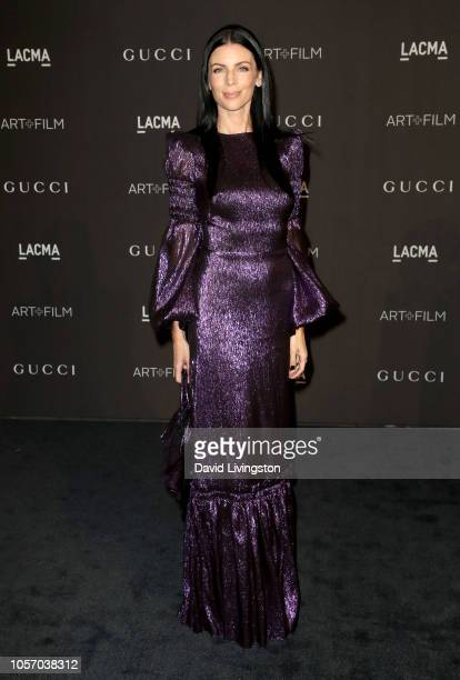 Model Liberty Ross attends 2018 LACMA Art Film Gala honoring Catherine Opie and Guillermo del Toro presented by Gucci at LACMA on November 3 2018 in...