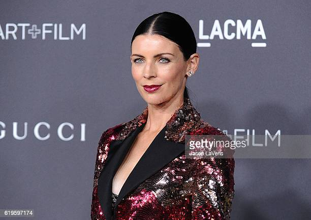 Model Liberty Ross attends the 2016 LACMA Art Film gala at LACMA on October 29 2016 in Los Angeles California