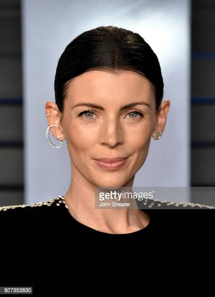 Model Liberty Ross attends the 2018 Vanity Fair Oscar Party hosted by Radhika Jones at Wallis Annenberg Center for the Performing Arts on March 4...
