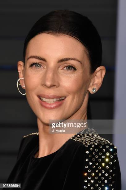 Model Liberty Ross attends the 2018 Vanity Fair Oscar Party hosted by Radhika Jones at the Wallis Annenberg Center for the Performing Arts on March 4...