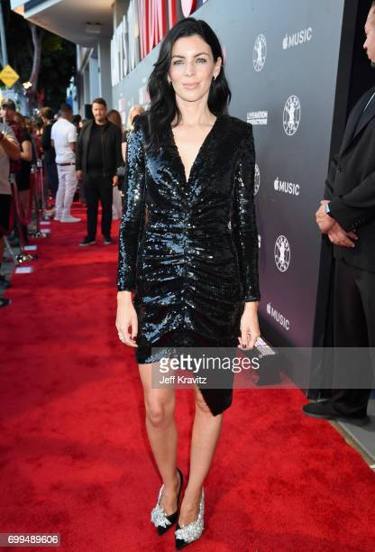 Model Liberty Ross attends the Los Angeles Premiere of Apple Music's CAN'T STOP WON'T STOP A BAD BOY STORY at The WGA Theater on June 21 2017 in...