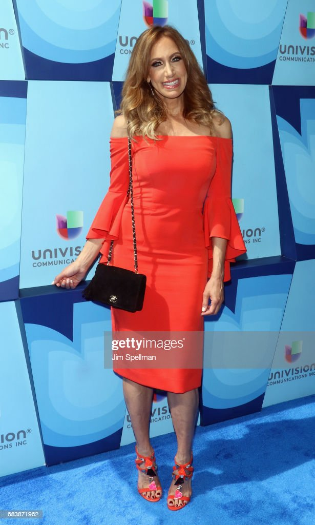 Model Lili Estefan attends Univision's 2017 Upfront at the Lyric Theatre on May 16, 2017 in New York City.