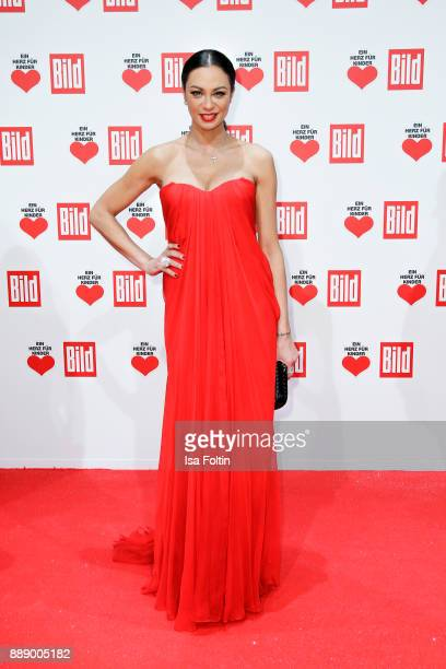 Model Lilly Becker attends the 'Ein Herz fuer Kinder Gala' at Studio Berlin Adlershof on December 9 2017 in Berlin Germany