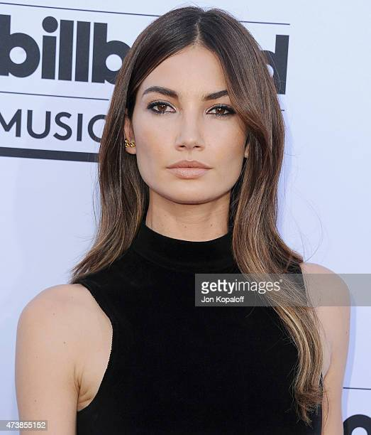Model Lily Aldridge arrives at the 2015 Billboard Music Awards at MGM Garden Arena on May 17 2015 in Las Vegas Nevada