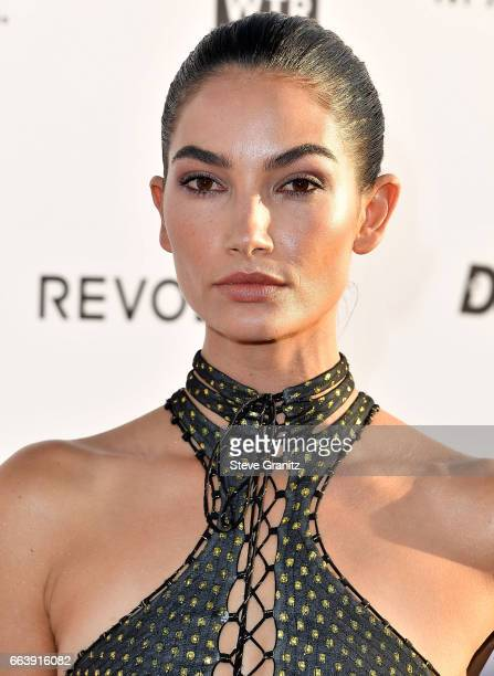 Model Lily Aldridge arrives at the Daily Front Row's 3rd Annual Fashion Los Angeles Awards on April 2 2017 in West Hollywood California