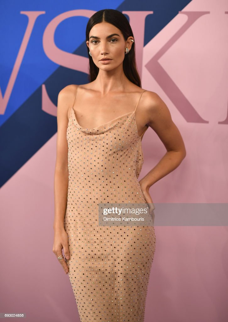 Model Lily Aldridge attends the 2017 CFDA Fashion Awards at Hammerstein Ballroom on June 5, 2017 in New York City.