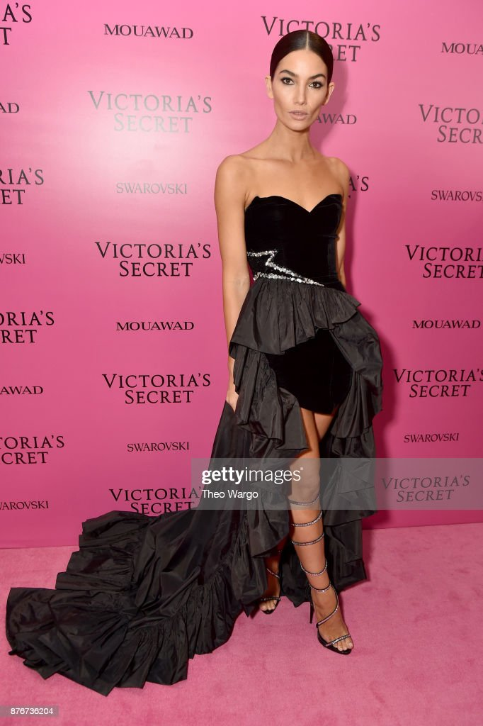 Model Lily Aldridge attends the 2017 Victoria's Secret Fashion Show In Shanghai After Party at Mercedes-Benz Arena on November 20, 2017 in Shanghai, China.