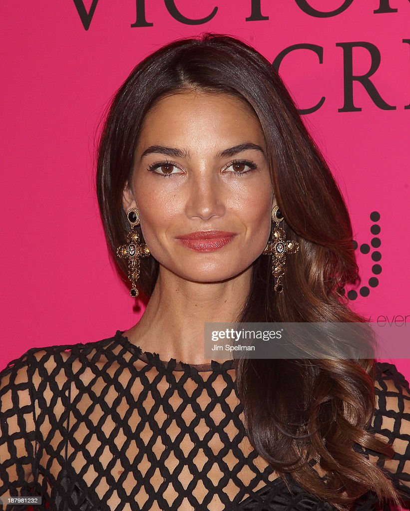Model Lily Aldridge attends the after party for the 2013 Victoria's Secret Fashion Show at TAO Downtown on November 13, 2013 in New York City.