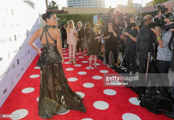 Model Lily Aldridge attends the Daily Front Row's 3rd Annual Fashion Los Angeles Awards at Sunset Tower Hotel on April 2 2017 in West Hollywood...