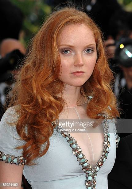 Model Lily Cole attends The Imaginarium Of Doctor Parnassus Premiere at the Palais des Festivals during the 62nd International Cannes Film Festival...