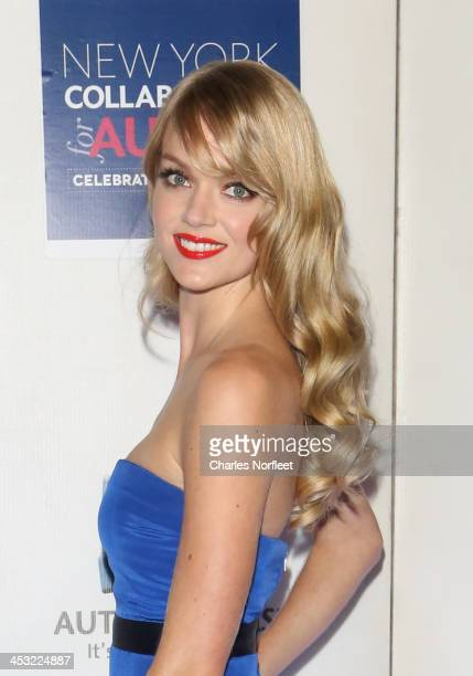 Model Lindsay Elingson attends the 2013 Winter Ball For Autism at the Metropolitan Museum of Art on December 2 2013 in New York City