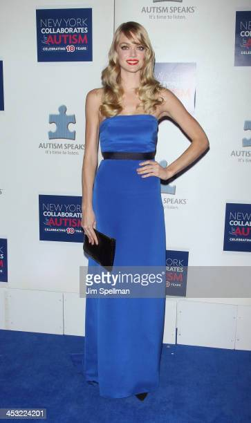 Model Lindsay Ellingson attends the 2013 Winter Ball For Autism the at Metropolitan Museum of Art on December 2 2013 in New York City