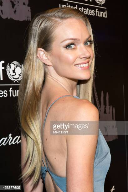 Model Lindsay Ellingson attends the 9th annual UNICEF Snowflake Ball at Cipriani Wall Street on December 3 2013 in New York City