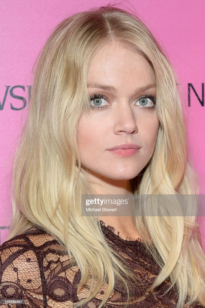 Model Lindsay Ellingson attends the after party for the 2012 Victoria's Secret Fashion Show at Lavo NYC on November 7, 2012 in New York City.