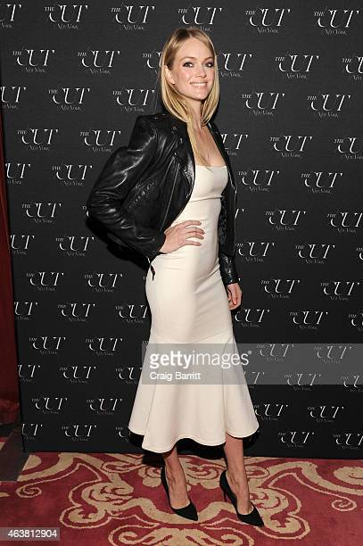 Model Lindsay Ellingson attends The Cut New York Magazine's Fashion Week Party at Gramercy Park Hotel on February 18 2015 in New York City