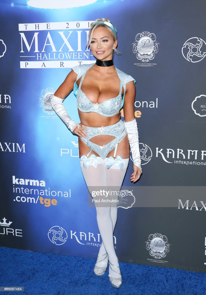 2017 Maxim Halloween Party - Arrivals
