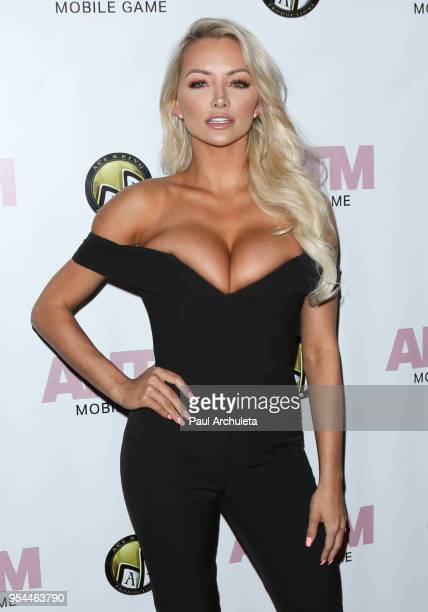 Model Lindsey Pelas attends the release of the America's Next Top Model mobile game at Avalon on May 3 2018 in Hollywood California