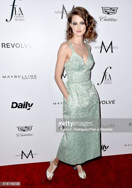 """Model Lindsey Wixson attends the Daily Front Row """"Fashion Los Angeles Awards"""" at Sunset Tower Hotel on March 20, 2016 in West Hollywood, California."""