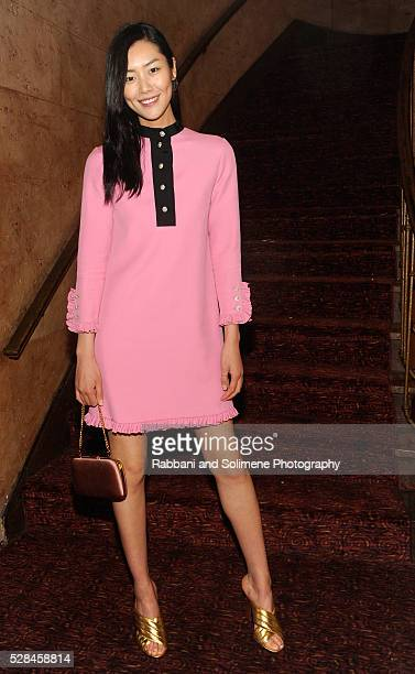 Model Liu Wen attends Florence And The Machine's Odyssey Screening at Village East Cinema on May 4 2016 in New York City