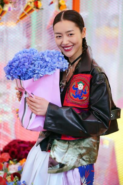 CHN: Liu Wen Attends Marni Market Event In Shanghai