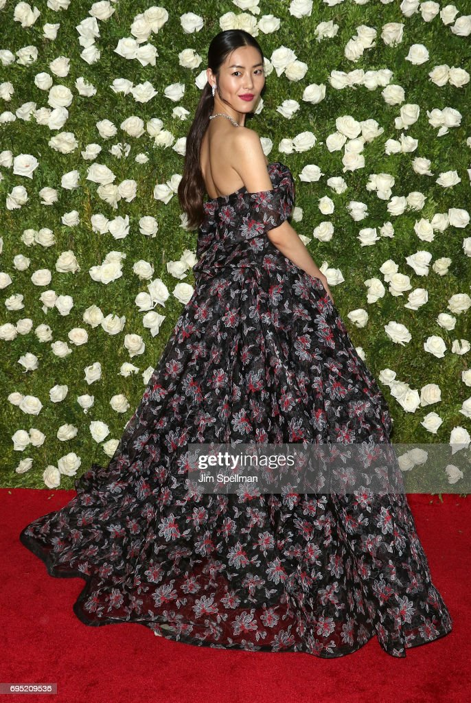 Model Liu Wen attends the 71st Annual Tony Awards at Radio City Music Hall on June 11, 2017 in New York City.