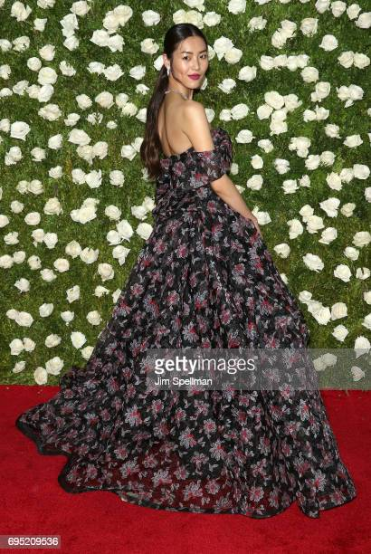 Model Liu Wen attends the 71st Annual Tony Awards at Radio City Music Hall on June 11 2017 in New York City