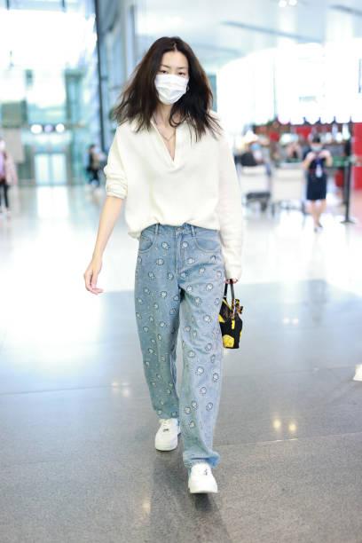 CHN: Liu Wen Sightings In Shanghai