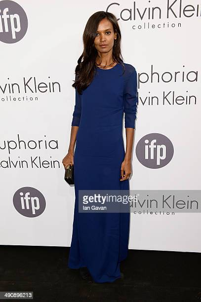 Model Liya Kebede attends the Calvin Klein party during the 67th Annual Cannes Film Festival on May 15 2014 in Cannes France