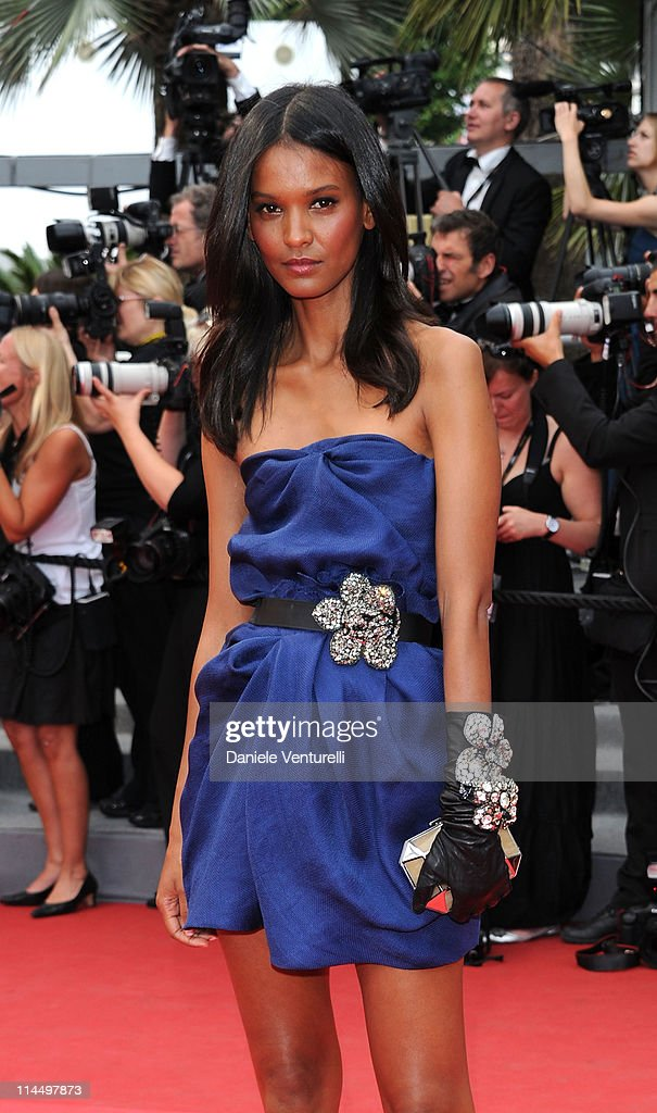 Model Liya Kebede attends the 'Les Bien-Aimes' Premiere and Closing Ceremony during the 64th Annual Cannes Film Festival at the Palais des Festivals on May 22, 2011 in Cannes, France.