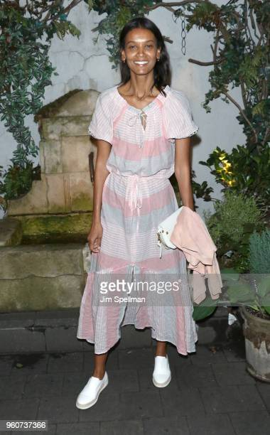 Model Liya Kebede attends the party for Ava DuVernay and Queen Sugar hosted by OWN at Laduree Soho on May 20 2018 in New York City