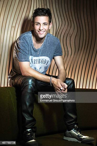 Model Louis Simonon is photographed for Madame Figaro on September 4 2014 in Paris France Pants and tshirt sneakers PUBLISHED IMAGE CREDIT MUST READ...