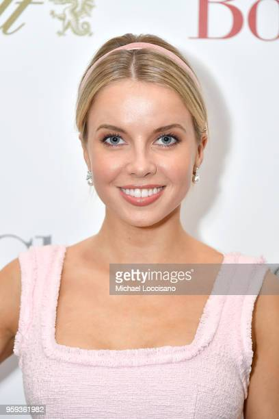 Model Louisa Warwick attends the New York screening of 'Book Club' at City Cinemas 123 on May 15 2018 in New York City