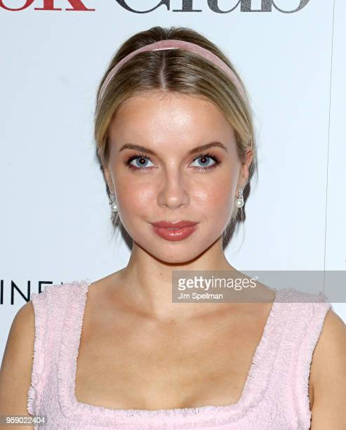 Model Louisa Warwick attends the screening of 'Book Club' hosted by Paramount Pictures with The Cinema Society and Lindt at City Cinemas 123 on May...