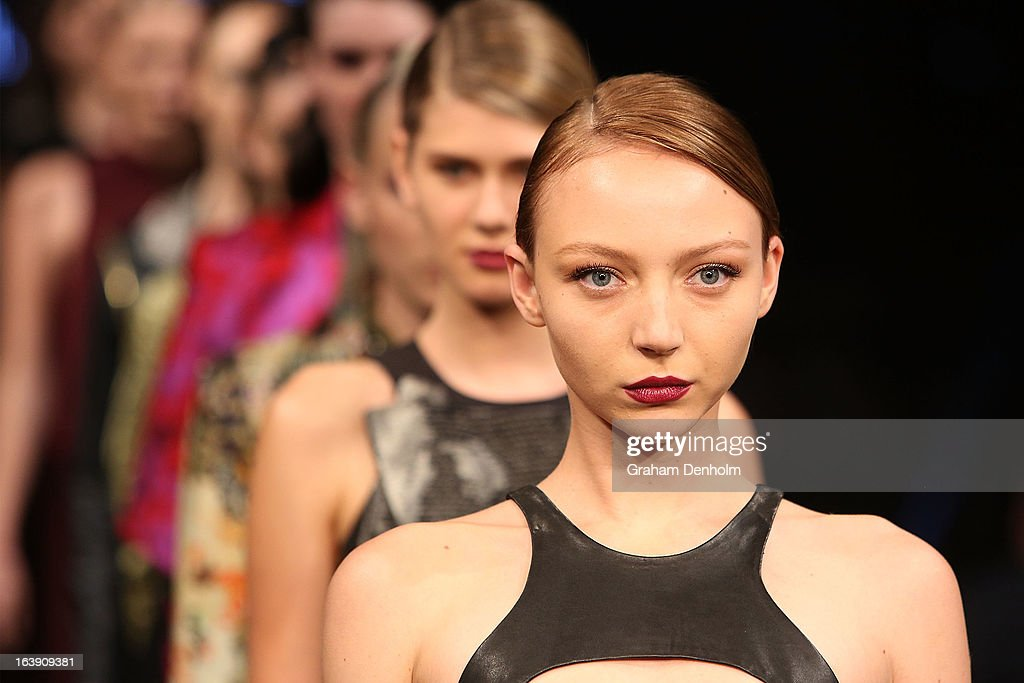 L Oreal Melbourne Fashion Festival Day 1 Photos And