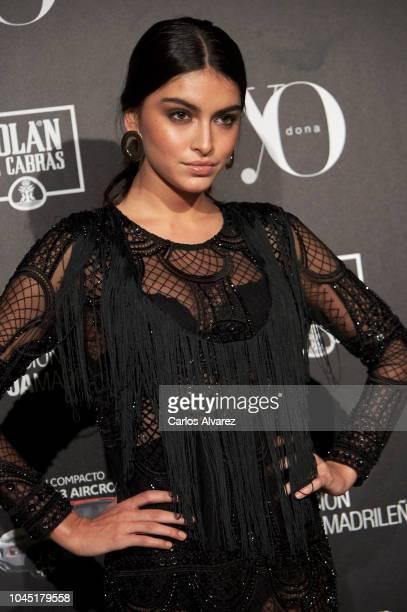 Model Lucia Rivera attends the 'YO DONA' International Awards 2018 at Palacio de Linares on October 3 2018 in Madrid Spain