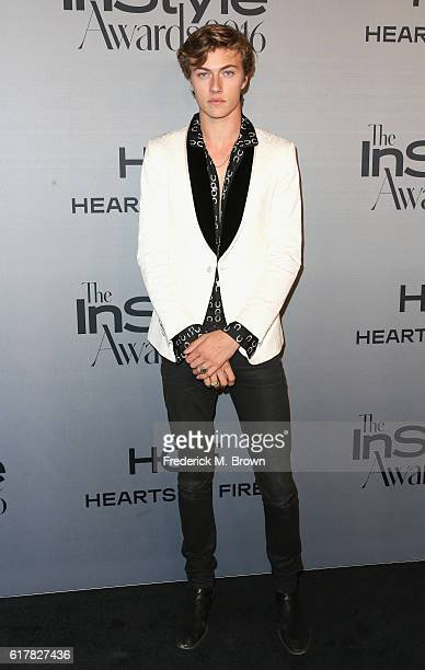 Model Lucky Blue Smith attends the 2nd Annual InStyle Awards at Getty Center on October 24 2016 in Los Angeles California